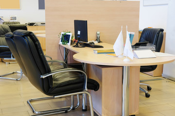 Interior of a business office