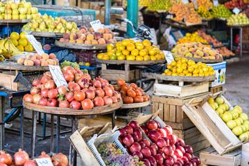 Fruitmarket in Qom, Iran