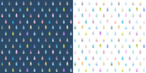 Raindrop Pattern Illustration