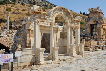 Hadrian Fountain, Ephesus, Kusadasi, Turkey