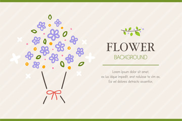 Flower Frame Illustration