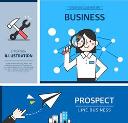 Business Situation Illustration
