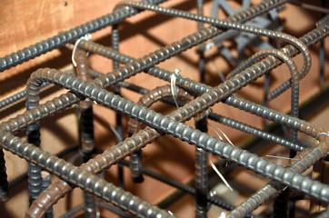 躯体工事:鉄筋と型枠