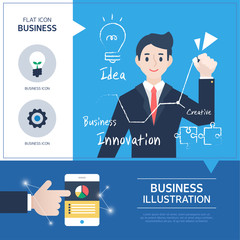 Business Situation Illustration