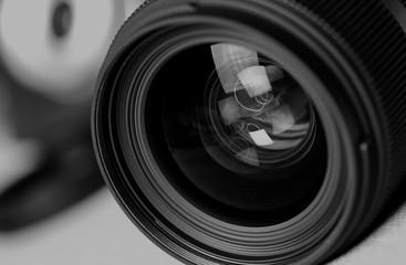 monochrome lens flare object