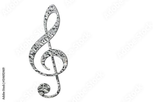 Violinschlüssel, Notenschlüssel\
