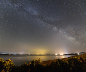 Milky Way from Lošinj island, Croatia.