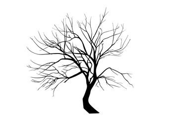 Verkrüppelter Baum