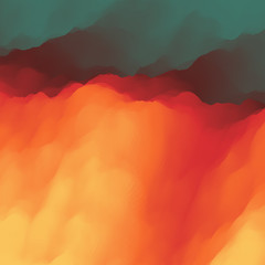 Lava. Abstract background. Modern pattern. Vector Illustration