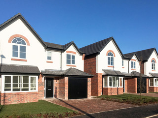 New build houses UK