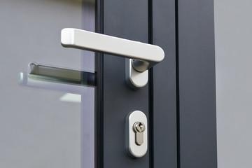 Exterior door handle and Security lock