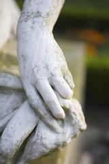 Rzeźba dłoni