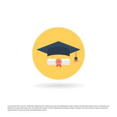 Graduation Cap with Scholarship
