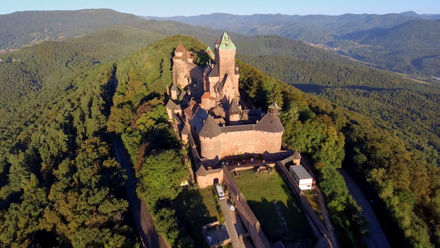 Alsace,Haut-Kœnigsbourg