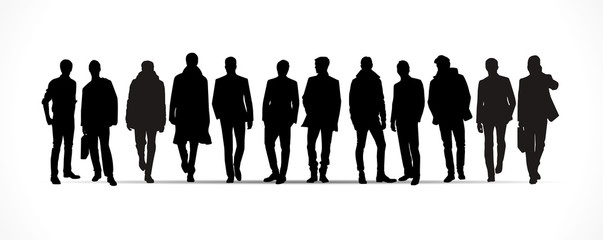 Silhouettes hommes