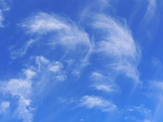 blauer Himmel Wolken Hintergrund