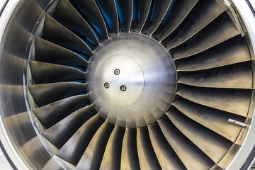 Turbine Blades of an Airplane Jet Engine I