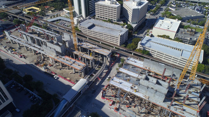 Construction of Miami Central Station