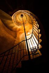 L'escalier du phare de Sein