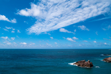 Portugal - Rock in the Atlantic ocean
