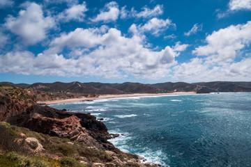 Portugal - Atlantic ocean against beach