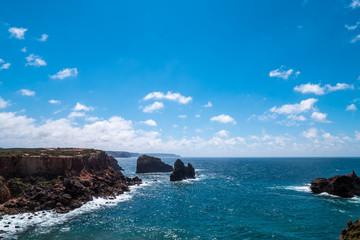 Portugal - Coast by Atlantic ocean