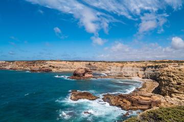 Portugal - Cliffs and Atlantic ocean