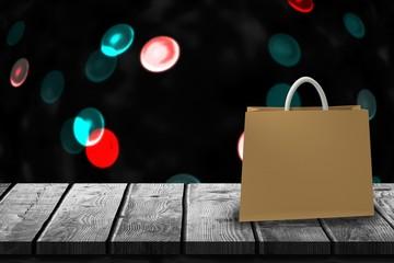 Composite image of handbag against white background 3d