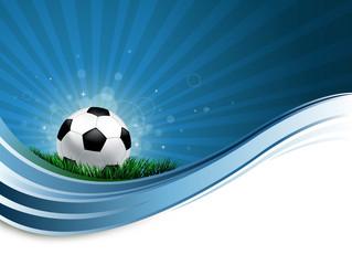 soccer ball wave