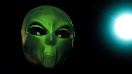 Alien 3d render