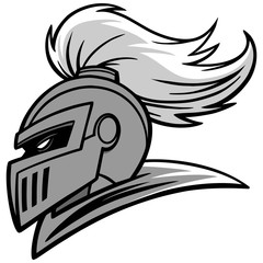 Knight Sports Mascot Illustration