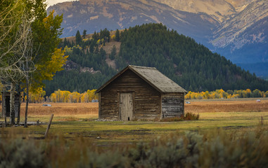 Mormon Row Historic in Grand Teton National Park