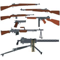 American weapons of World War II