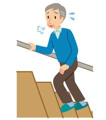 ロコモ 階段を上る 高齢者