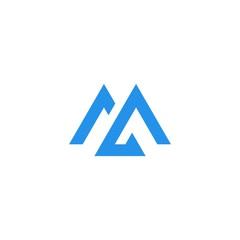 M logo icon monogram