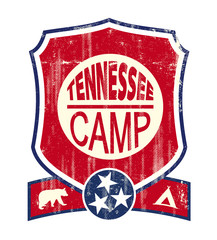 Tennessee Camp Vintage sign