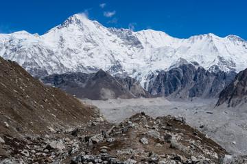 Cho Oyu mountain peak, Everest region, Nepal