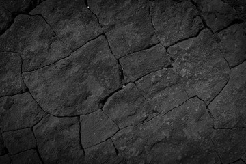 Dark grey black wall stone background or texture -lava texture