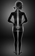 Women Feeling the Back pain