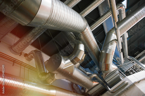 Industrial Air Pipes : Quot ventilation pipes and ducts of industrial air condition