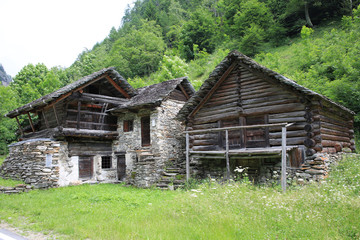Historic farm in Tessin, Switzerland