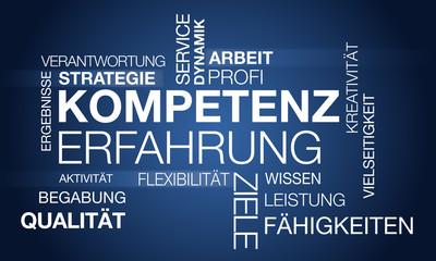 Kompetenz Erfahrung Konzept - Vektor