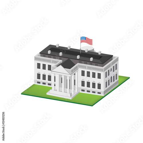 White House 3d Stock Image And Royalty Free Vector Files On