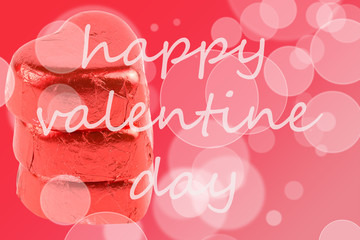 valentine day with ornament decoration background
