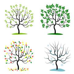 set of season tree