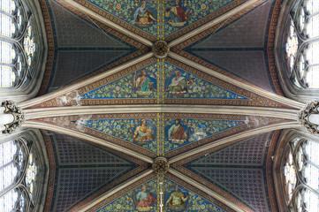Deckengemälde Votivkirche