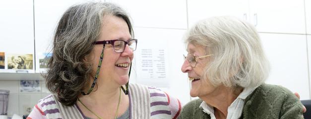 Senioren Häusliche Altenpflege Banner Lachen