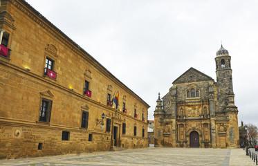 Palacio del Marqués de Mancera y Capilla del Divino Salvador, Úbeda, España