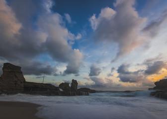 Klayar Beach Seawave