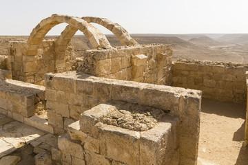 Ruinen von Avdat, ruin of Avdat, Israel